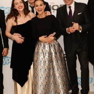 Natalie Portman, Christopher Eccleston, Stellan Skarsgård and Kat Dennings at event of Toras: Tamsos pasaulis (2013)
