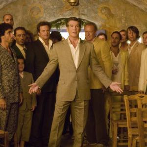 Still of Pierce Brosnan, Colin Firth and Stellan Skarsgård in Mamma Mia! (2008)