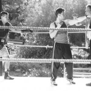 Still of Jimmy Smits, Clifton Collins Jr. and Jon Seda in Price of Glory (2000)