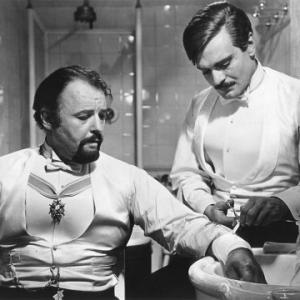 Still of Omar Sharif and Rod Steiger in Doctor Zhivago (1965)