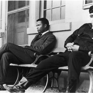 Still of Sidney Poitier and Rod Steiger in In the Heat of the Night (1967)