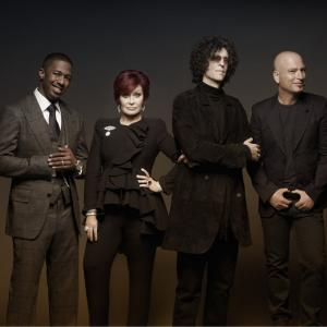 Howard Stern, Howie Mandel, Nick Cannon, Sharon Osbourne