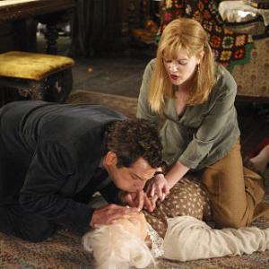 Still of Drew Barrymore Ben Stiller and Eileen Essell in Duplex 2003