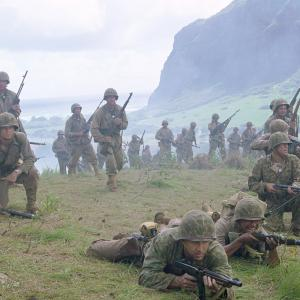 Still of Nicolas Cage Peter Stormare Adam Beach Mark Ruffalo and Brian Van Holt in Windtalkers 2002