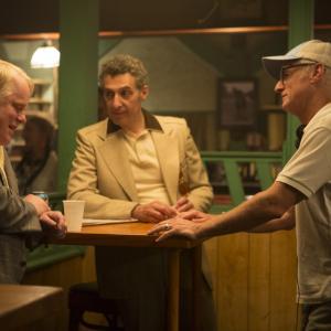 Philip Seymour Hoffman John Turturro and John Slattery in Gods Pocket 2014