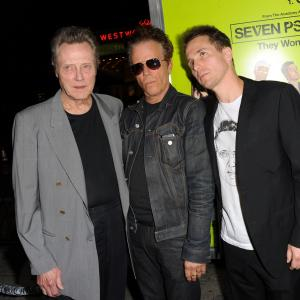 Christopher Walken, Tom Waits, Sam Rockwell