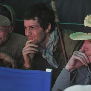 Ed Harris, Peter Weir, Jim Sturgess