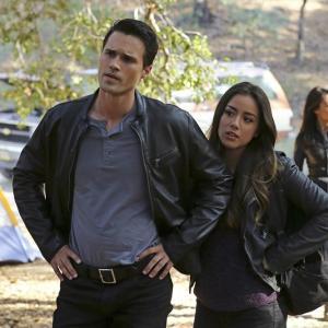 Still of MingNa Wen Brett Dalton and Chloe Bennet in Agents of SHIELD 2013