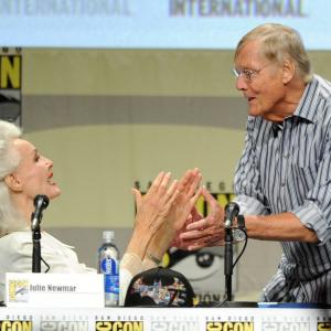 Adam West, Julie Newmar