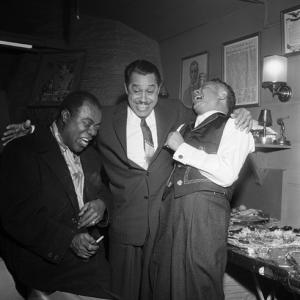 Louis Armstrong, Cab Calloway, Billy Daniels