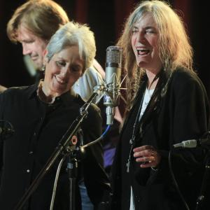Joan Baez, Patti Smith