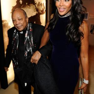 Naomi Campbell, Quincy Jones