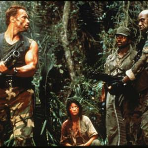 Arnold Schwarzenegger, Carl Weathers, Elpidia Carrillo, Bill Duke