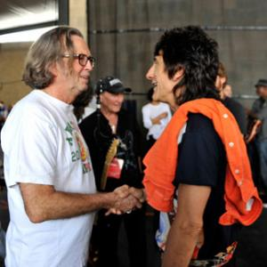 Eric Clapton, Ronnie Wood
