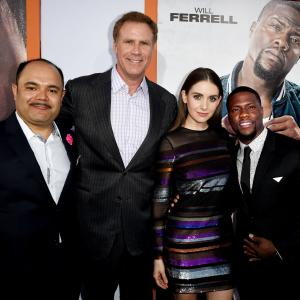 Will Ferrell, Kevin Hart, Alison Brie, Erick Chavarria