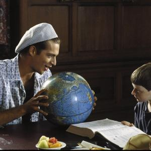 Still of Harry Connick Jr and Adam HannByrd in Little Man Tate 1991