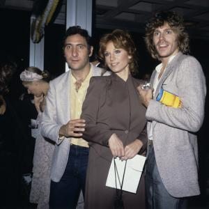Jeff Conaway with Judd Hirsch and Marilu Henner circa 1970s