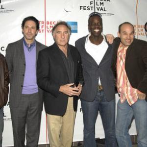 Elliot Korte, Scott Cohen, Judd Hirsch, Ato Essandoh, Todd S. Yellin, director, and Jonathan Kaplan, executive producer at the 5th Annual Tribeca Film Festival -