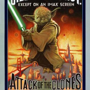 Tom Delmar Stunt Coordinator  Action Director Great Poster! George Lucass Starwars IIattack of the clonesjpg