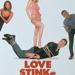 Bill Bellamy, French Stewart and Bridgette Wilson-Sampras in Love Stinks (1999)