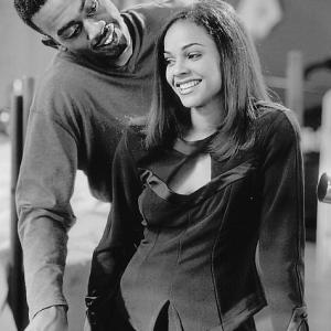 Still of Bill Bellamy and Lark Voorhies in How to Be a Player (1997)