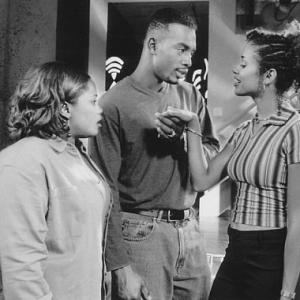 Still of Bill Bellamy, Mari Morrow and Natalie Desselle Reid in How to Be a Player (1997)
