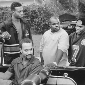 Still of Bill Bellamy, Pierre Edwards, Jermaine 'Huggy' Hopkins and Anthony Johnson in How to Be a Player (1997)