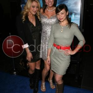 jennifer blanc with tanya newbould of skyline and danielle harris at the skyline premiere
