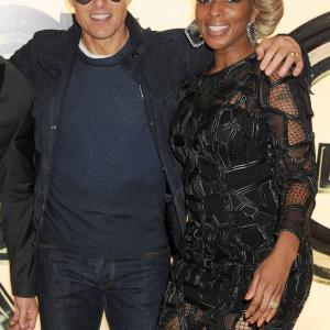 Tom Cruise and Mary J. Blige at event of Roko amzius (2012)