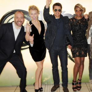 Tom Cruise, Mary J. Blige, Paul Giamatti and Julianne Hough at event of Roko amzius (2012)