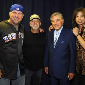 Tony Bennett, Garth Brooks, Billy Joel, Steven Tyler