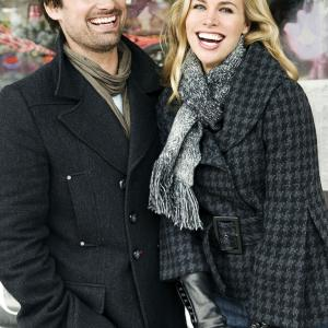 Still of Brooke Burns and Warren Christie in The Most Wonderful Time of the Year (2008)