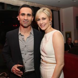 Nestor Carbonell and Vera Farmiga at event of Bates Motel (2013)