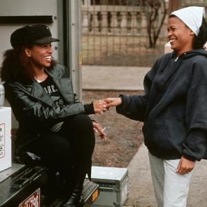 Still of Nia Long and Lisa Nicole Carson in Love Jones (1997)