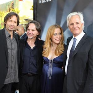 Gillian Anderson, David Duchovny, Chris Carter, Frank Spotnitz