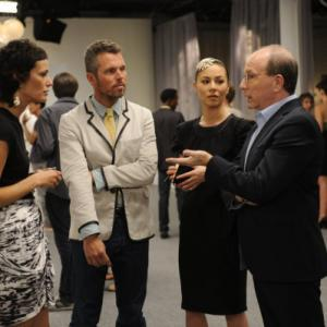 China Chow, Bill Powers, Jerry Saltz, Jeanne Greenberg Rohatyn