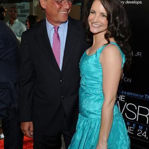Kristin Davis and Aaron Sorkin at event of The Newsroom 2012