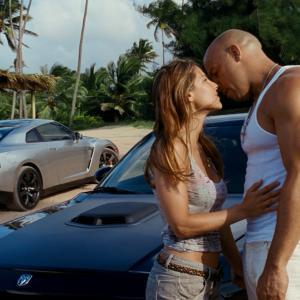 Still of Vin Diesel and Elsa Pataky in Greiti ir isiute 5 2011
