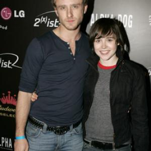 Ben Foster and Ellen Page at event of Alfa gauja 2006