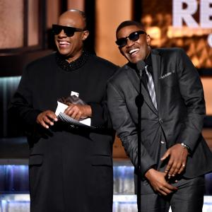 Jamie Foxx, Stevie Wonder