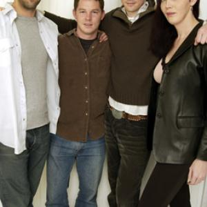 Troy Garity Shawn Hatosy and Lee Pace at event of Soldiers Girl 2003