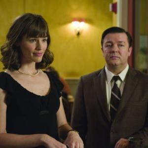Still of Jennifer Garner and Ricky Gervais in The Invention of Lying 2009