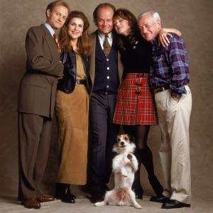 Kelsey Grammer, David Hyde Pierce, John Mahoney, Peri Gilpin, Jane Leeves