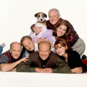 Kelsey Grammer, David Hyde Pierce, John Mahoney, Peri Gilpin, Jane Leeves, Dan Butler