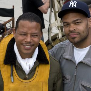 Still of Terrence Howard and Anthony Hemingway in Red Tails 2012