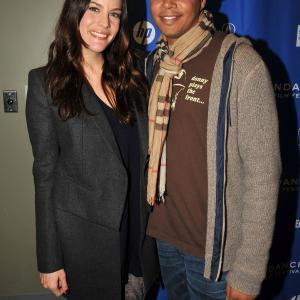 Liv Tyler and Terrence Howard at event of The Ledge 2011