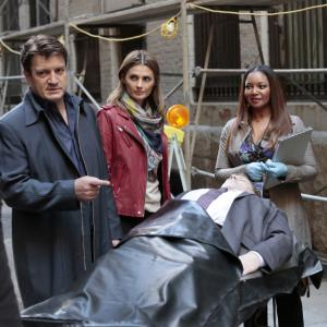 Jon Huertas, Tamala Jones, Seamus Dever, Nathan Fillion, Stana Katic