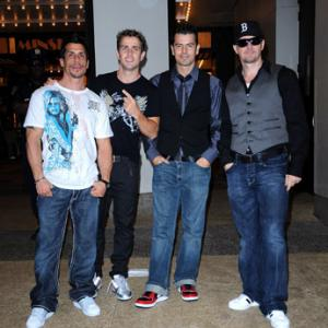 Jordan Knight, Donnie Wahlberg, Joey McIntyre, Danny Wood