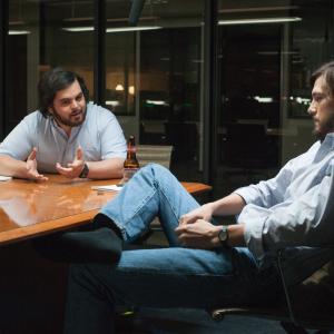 Ashton Kutcher and Josh Gad
