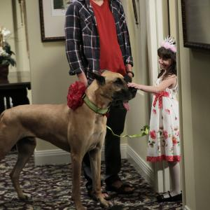 Ashton Kutcher and Talyan Wright in Two and a Half Men (2003)